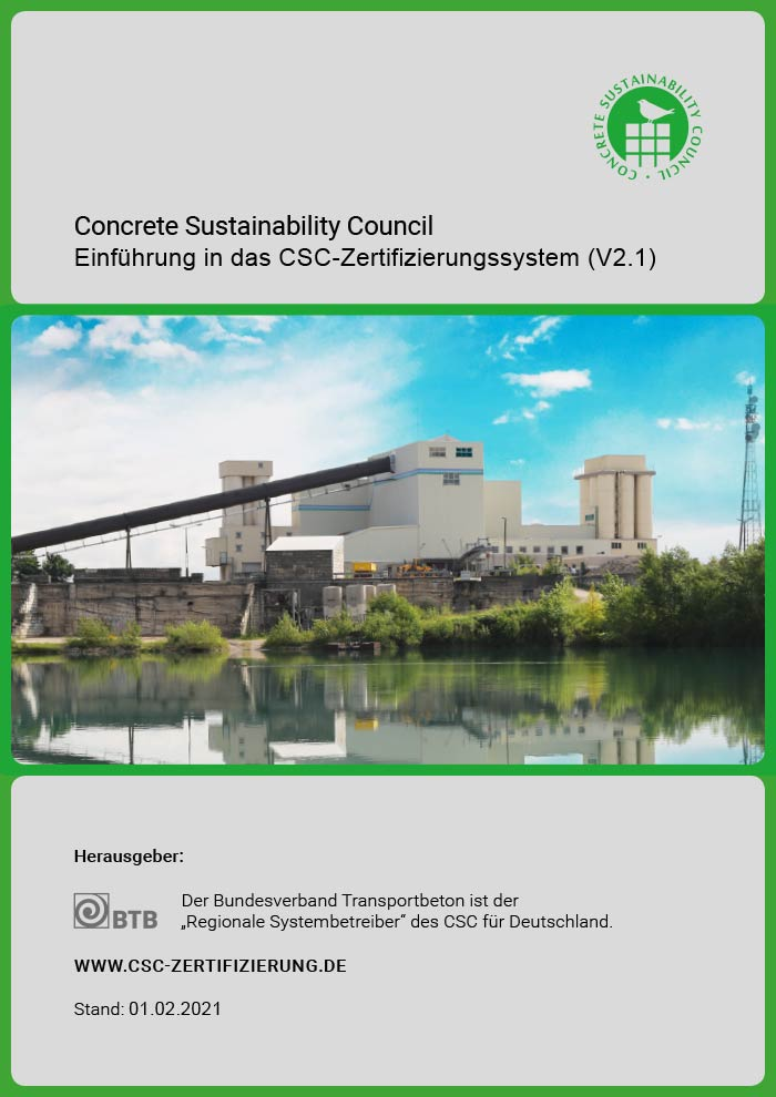 """Handbuch """"Einführung in das CSC-Zertifizierungssystem"""""""
