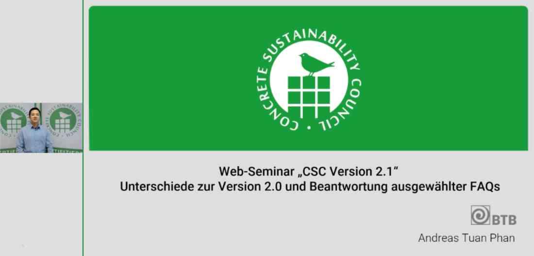 Zu den CSC-Web-Seminaren