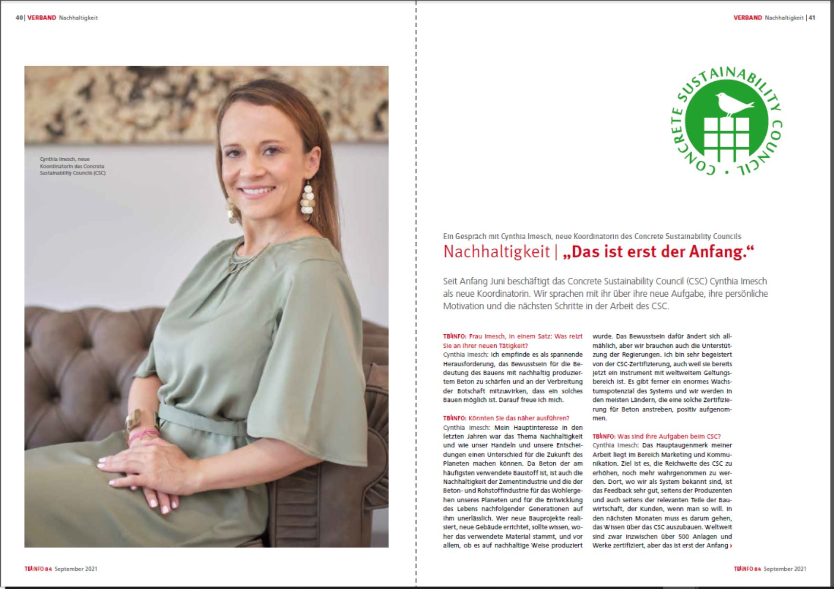 "Featured image for ""Interview mit CSC-Koordinatorin Cynthia Imesch"""